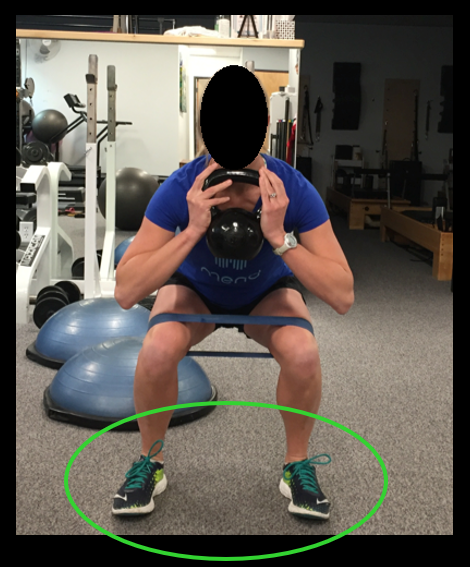 squats with bands image